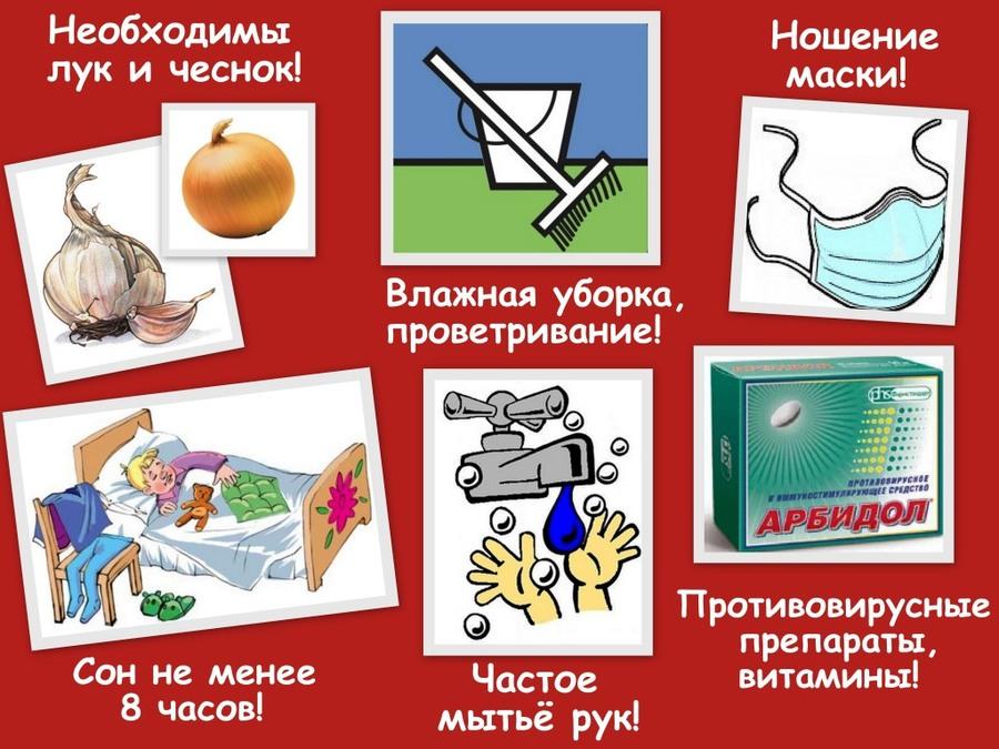 Картинки по запросу плакат профилактика гриппа