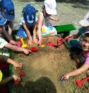 Песок и почва